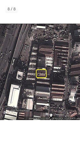 İzmir Konak Şirketten Satılık 780 m2 Fabrika