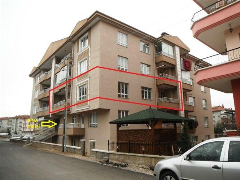 Ankara Çubuk'ta 3+1 Ara Kat Daire