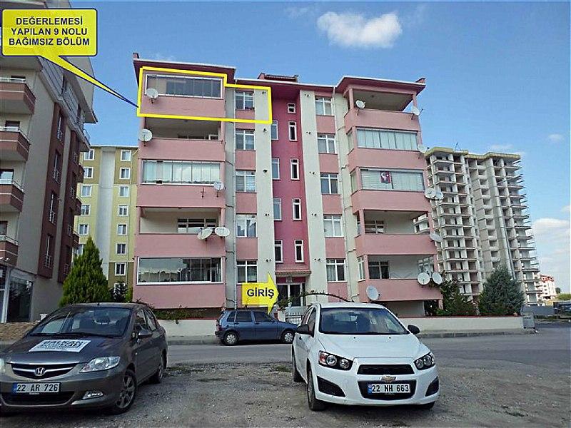 Edirne Merkez Bankadan Satılık 175 m2 Daire