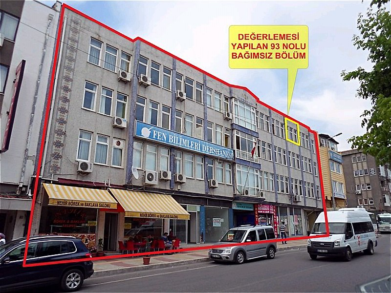 Edirne Merkez Bankadan Satılık 40 m2 Dükkan