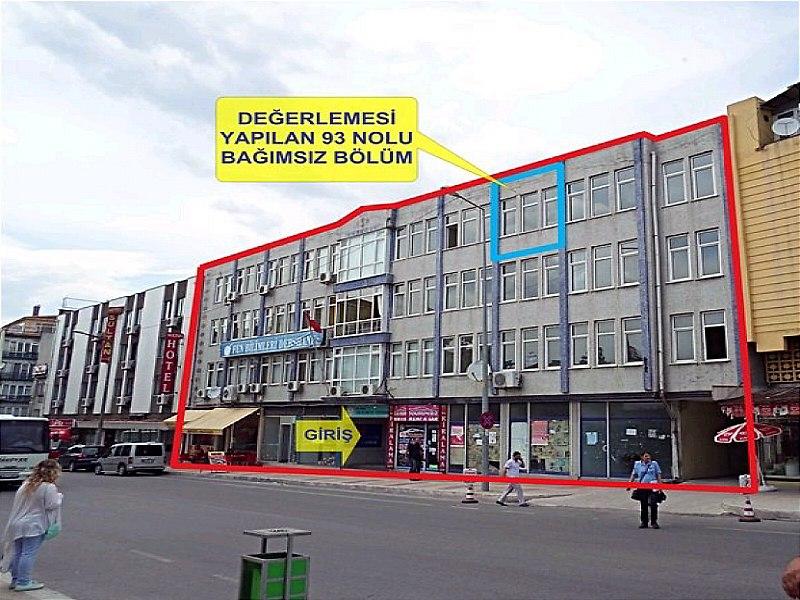 Edirne Merkez Ekşioğlu İş Hanı'nda Dükkan