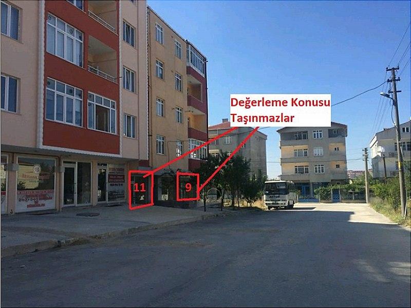 Tekirdağ Çerkezköy Bankadan Satılık 56 m2 Dükkan