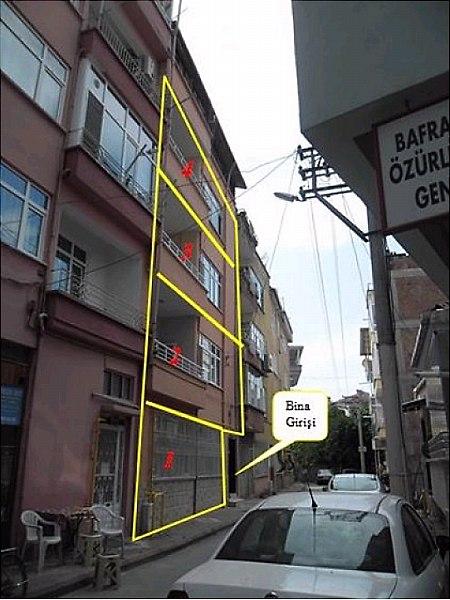 Samsun Bafra Bankadan Satılık 100 m2 Daire