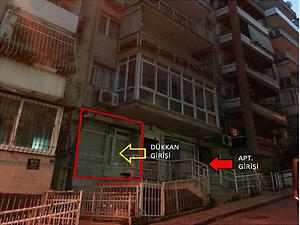 İzmir Karabağlar Bankadan Satılık 56 m2 Dükkan