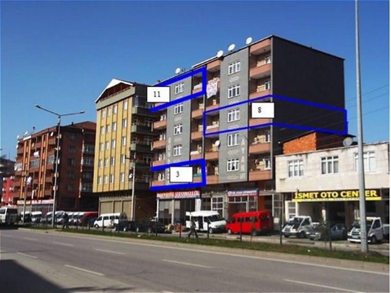 Samsun Terme Bankadan Satılık 104 m2 Daire