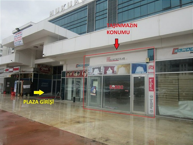 Ankara Etimesgut Hukukçular Plaza'da 35 m2 Dükkan