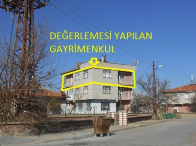 Yozgat Yerköy Bankadan Satılık 86 m2 Daire