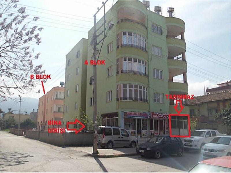 Osmaniye Kadirli Bankadan Satılık 290 m2 Dükkan
