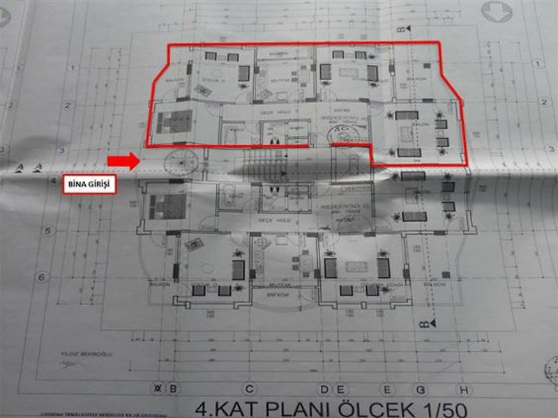 Şanlıurfa Siverek Bankadan Satılık 150 m2 Daire