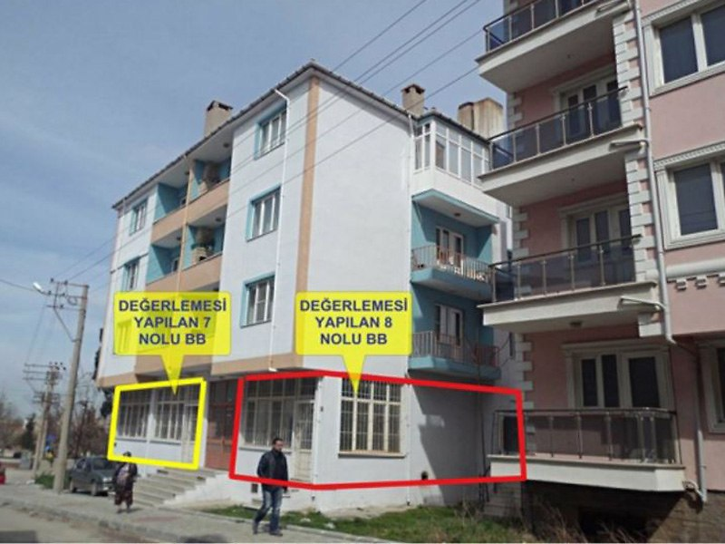 Edirne Keşan'da Tahliye Edilmemiş 110 m2 dükkan