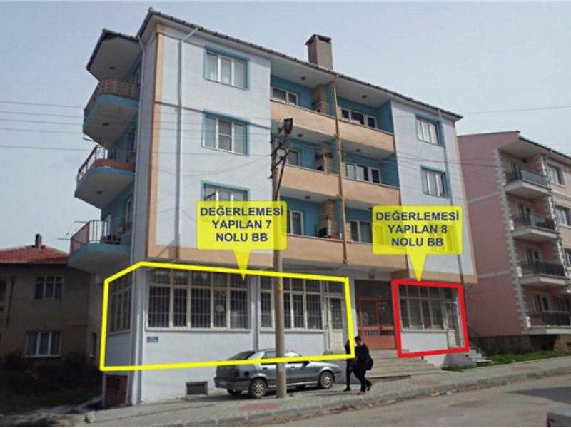 Edirne Keşan Bankadan Satılık 110 m2 Dükkan