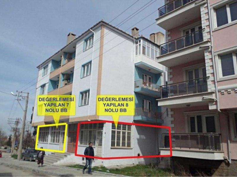 Edirne Keşan'da Tahliye Edilmemiş 32 m2 dükkan