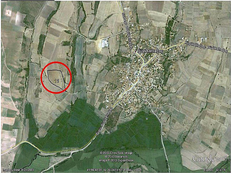 Edirne Meriç Şirketten Satılık 17567 m2 Tarla