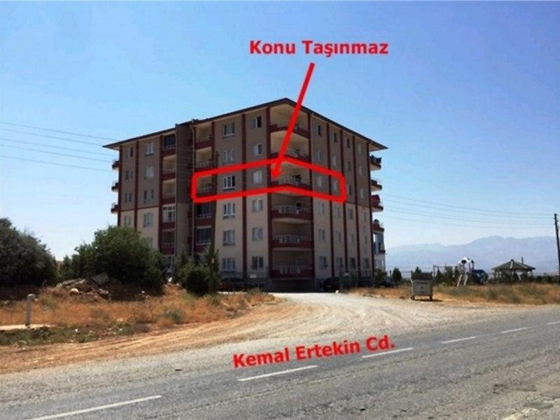 Kahramanmaraş Afşin Bankadan Satılık 133 m2 Daire