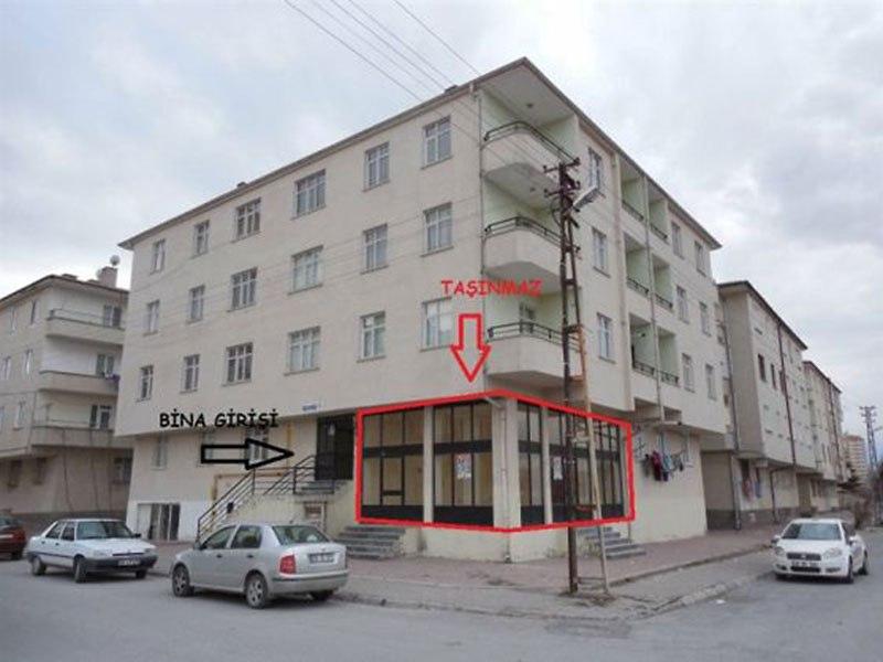 Kayseri Melikgazi'de 45 m2 Dükkan