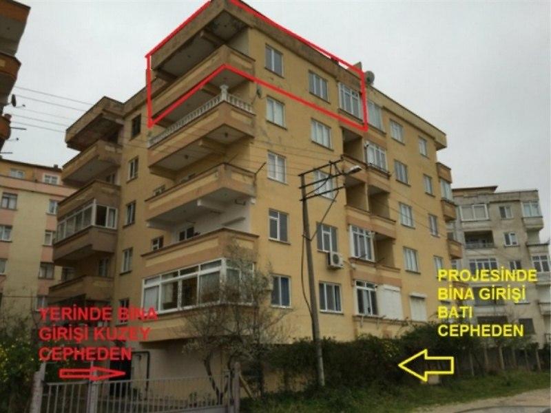 Yalova Çınarcık'ta 155 m2 4+1 Dubleks Daire