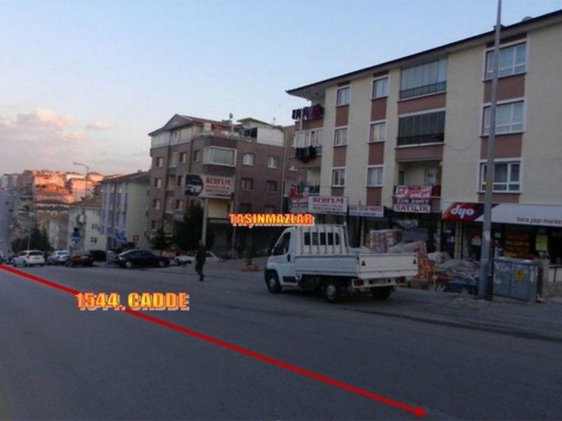 Ankara Etimesgut Bankadan Satılık 125 m2 Dükkan