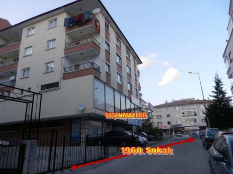 Ankara Etimesgut Bankadan Satılık 162 m2 Dükkan