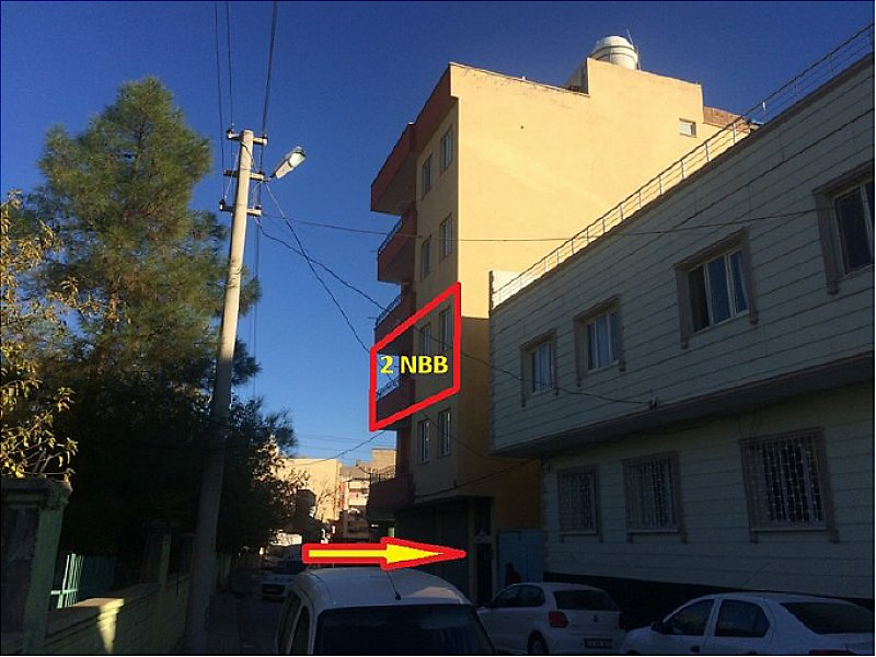 Mardin Kızıltepe'de 113 m2 3+1 Daire