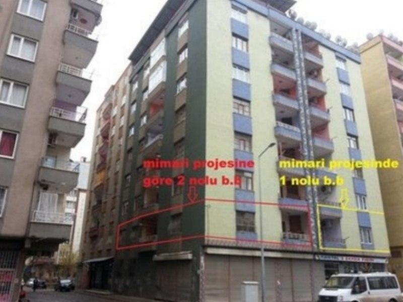 Diyarbakır Bağlar'da 3+1 Daire