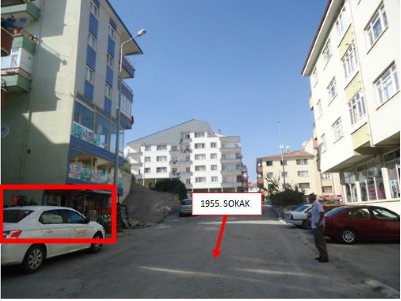 Ankara Etimesgut Bankadan Satılık 59 m2 Dükkan