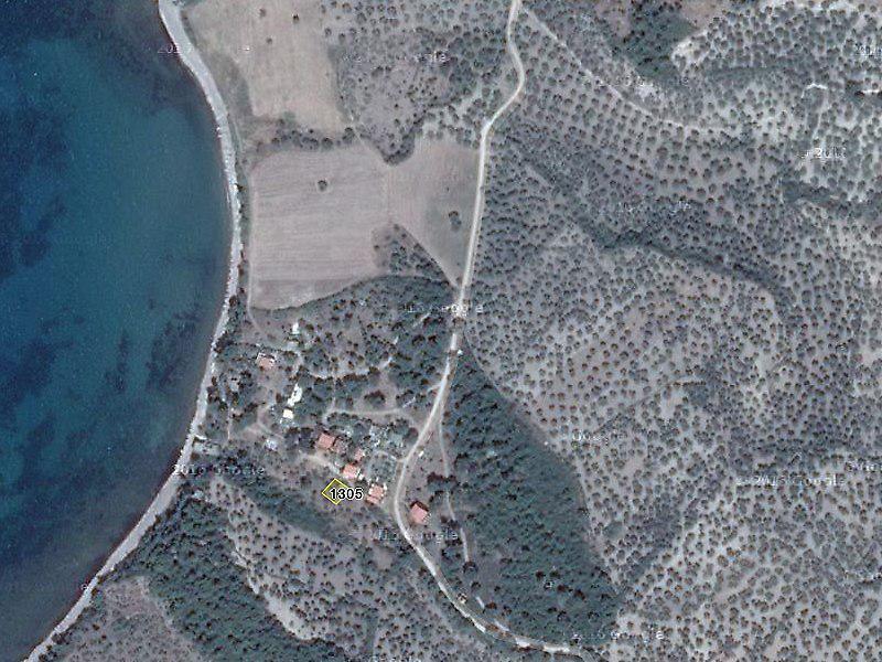 Çanakkale Ayvacık'ta Yol Cepheli Deniz Manzaralı  İmarlı Arsa