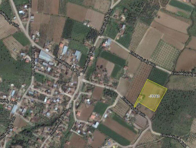 İzmir Ödemiş Sahibinden Satılık 6368 m2 Tarla