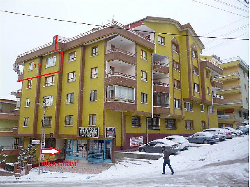 Ankara Mamak'ta Çatı Aralı 5+1
