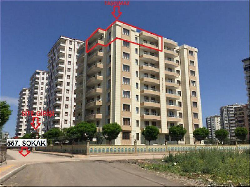 Diyarbakır Kayapınar'da  160 m² Daire
