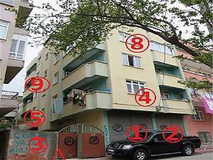 Samsun İlkadım Bankadan Satılık 62 m2 Daire