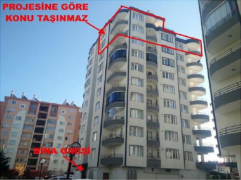 Diyarbakır Kayapınar Dubleks 5+1 Daire B blok