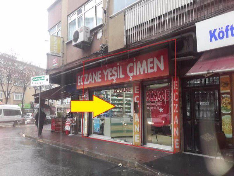 İstanbul Fatih'te Eczane'ye uygun 37 m2