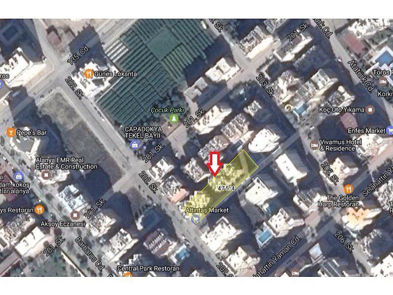 Antalya Alanya Osmangazi Mahallesi'nde 2+1 Daire 95 m2