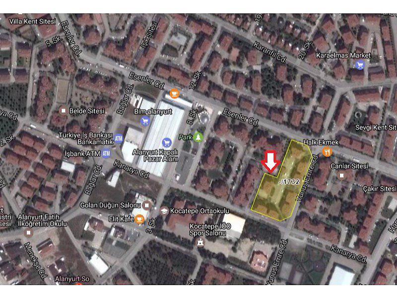 Bursa İnegöl Yunus Emre Mahallesi'nde 3+1 Daire 100m2