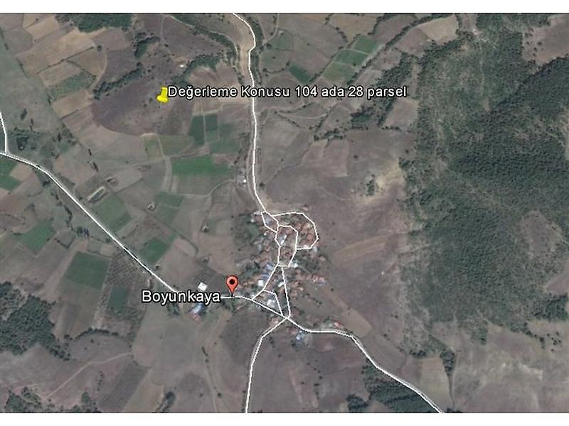 Bilecik Osmaneli Bankadan Satılık 7205 m2 Tarla