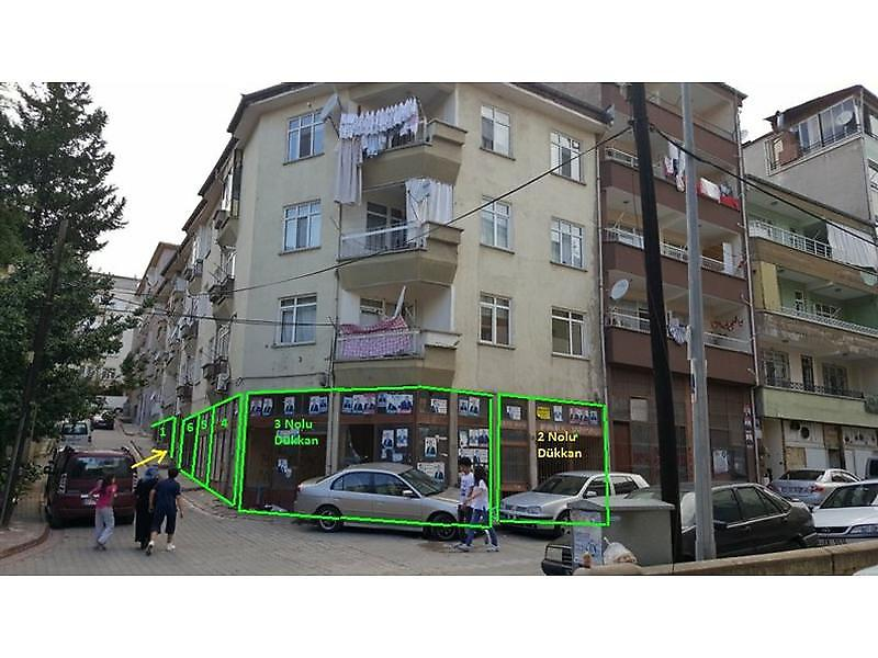 Kırıkkale Merkez Bankadan Satılık 21 m2 Dükkan