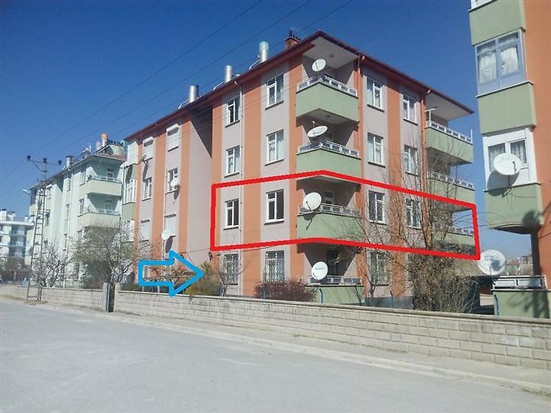 Konya Cihanbeyli'de 3+1 Daire