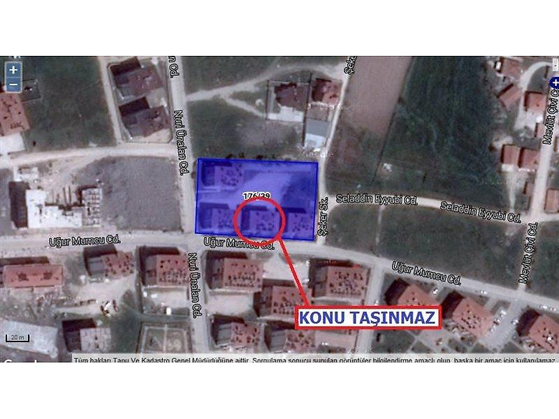 Konya Cihanbeyli Bankadan Satılık 117 m2 Daire