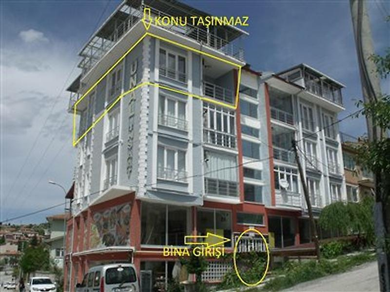 Kütahya Emet Bankadan Satılık 83 m2 Daire