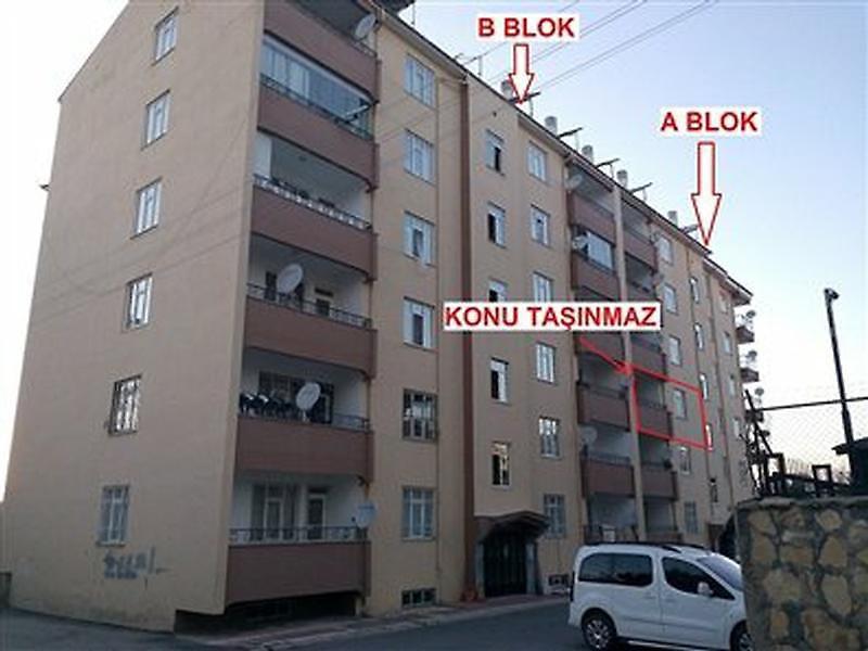 Van İpekyolu'da Hilal Konut Yapı Kooperatifi  3+1 Daire