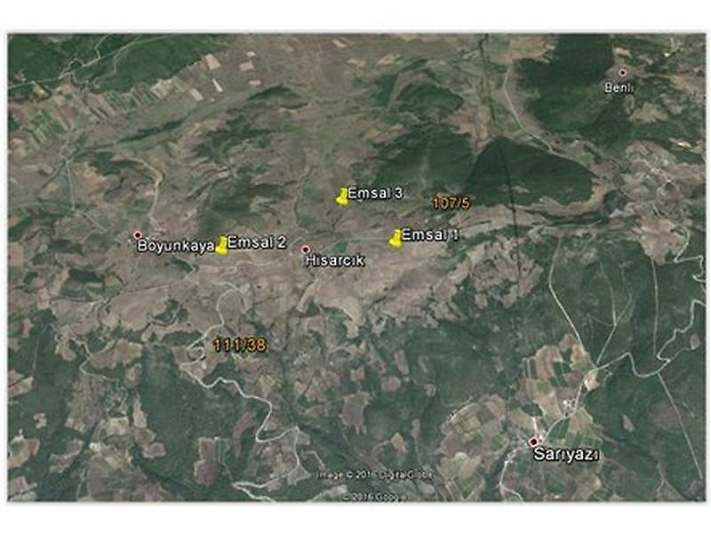 Bilecik Osmaneli Bankadan Satılık 4314 m2 Tarla