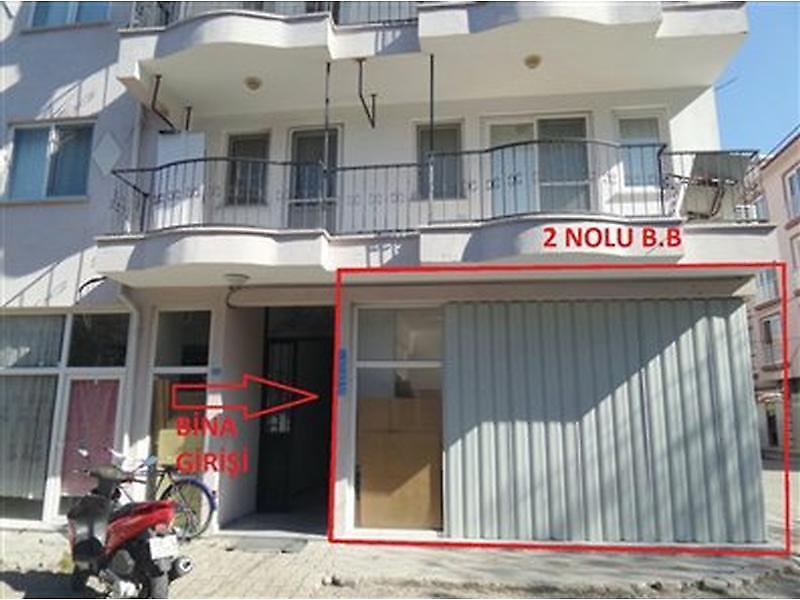 Muğla Dalaman Bankadan Satılık 32 m2 Dükkan