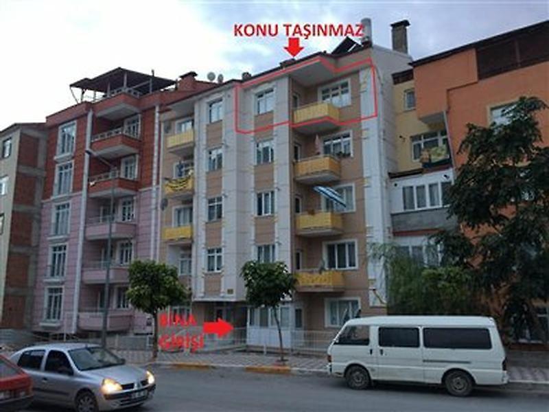 Tokat Merkez Gülbaharhatun Mahallesi'nde 2+1 Daire 100 m2