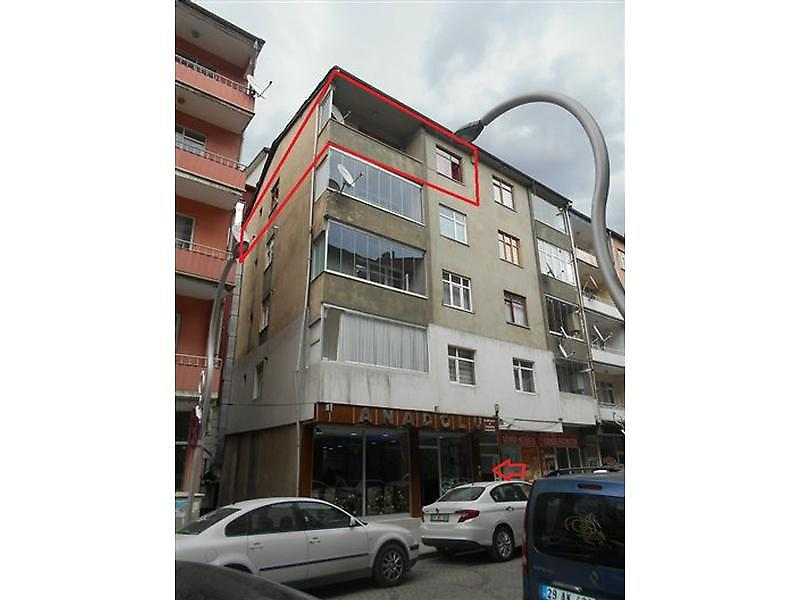 Gümüşhane Merkez Bankadan Satılık 90 m2 Daire