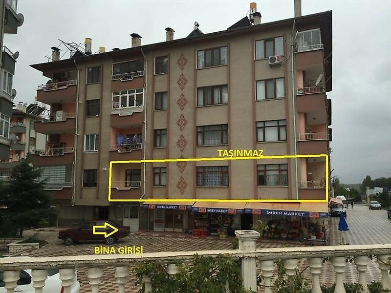 Tokat Merkez Yeniyurt Mahallesi'nde 3+1 Daire 130 m2
