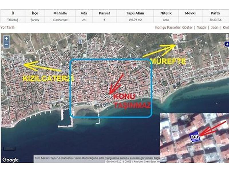 Tekirdağ Şarköy Bankadan Satılık 109 m2 Daire