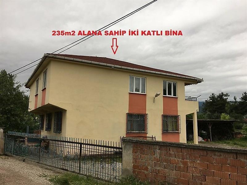 Tokat Niksar Bankadan Satılık 235 m2 Villa
