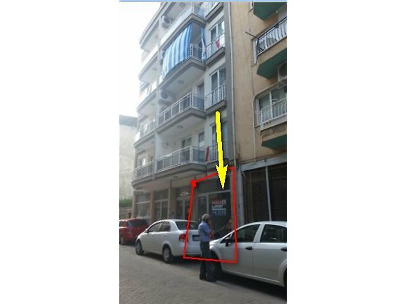 Aydın Merkez Bankadan Satılık 115 m2 Dükkan
