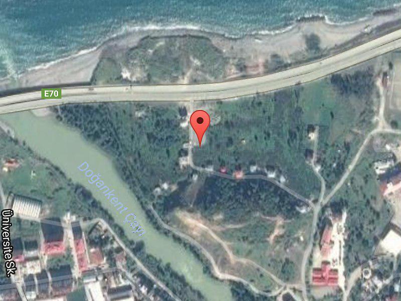 Giresun Tirebolu'da 500 m2 İmarlı Arsa