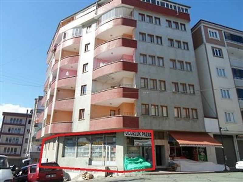 Trabzon Çarşıbaşı Bankadan Satılık 123 m2 Dükkan